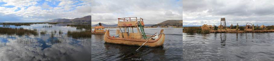 lake titicaca peru the reed islands